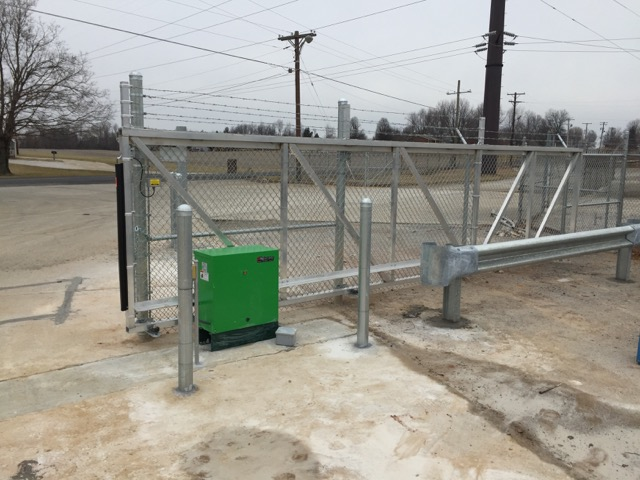 Gate operators access control « falls city fence